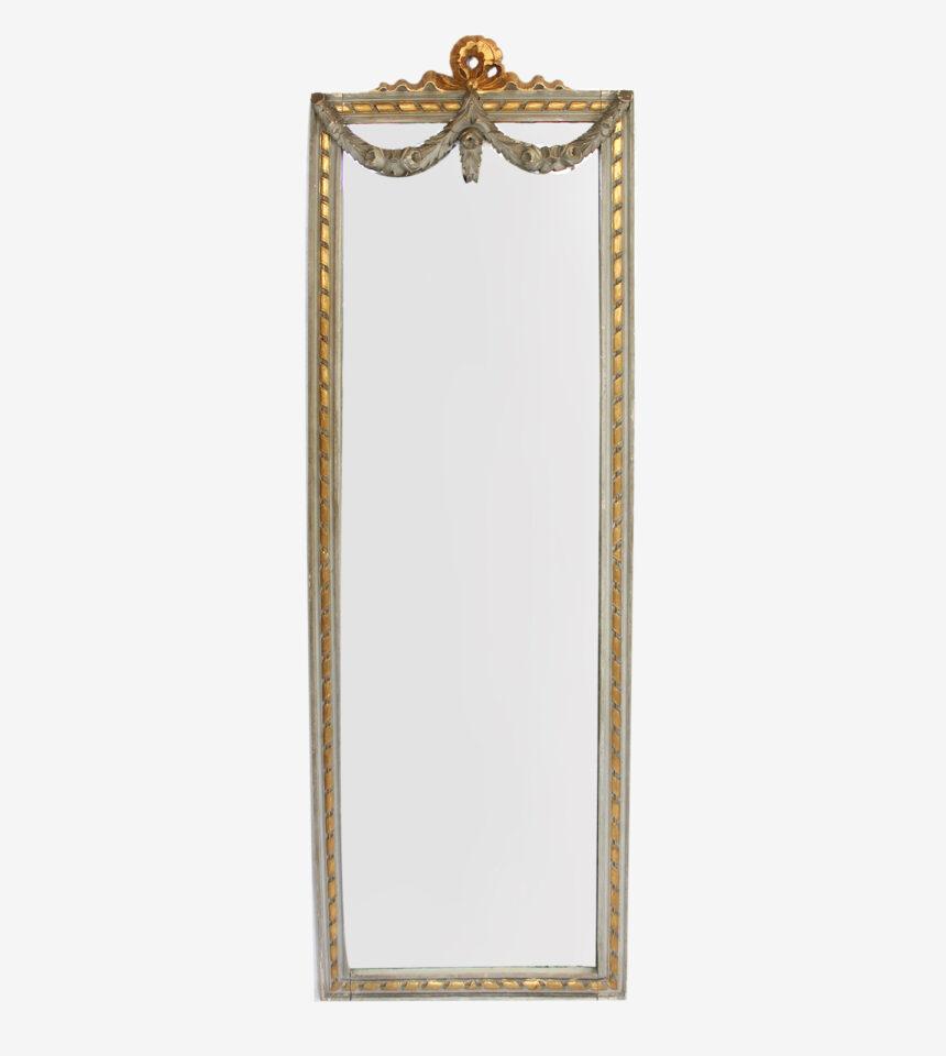Franse Spiegels Louis XVI grijs en goud