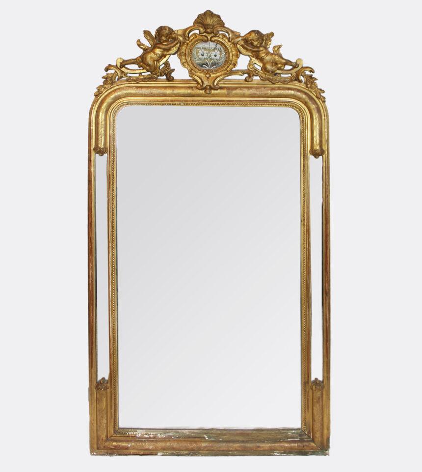 Franse Spiegels Louis Philippe Engelenmotief