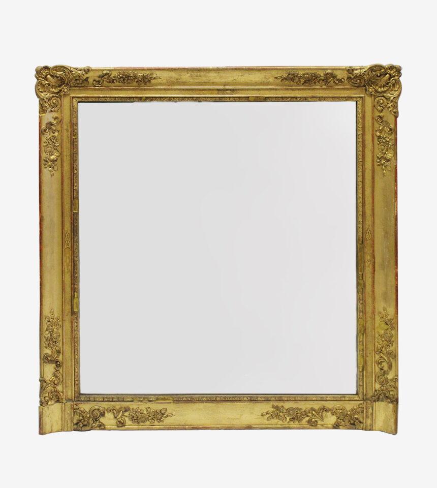 Franse Spiegels vierkante barokke spiegel