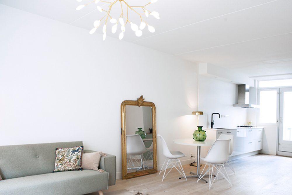 Amsterdams Appartement Franse Spiegel Overview