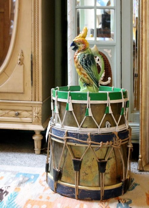 Wildschut Antiques Drums St Clement Cockatoo
