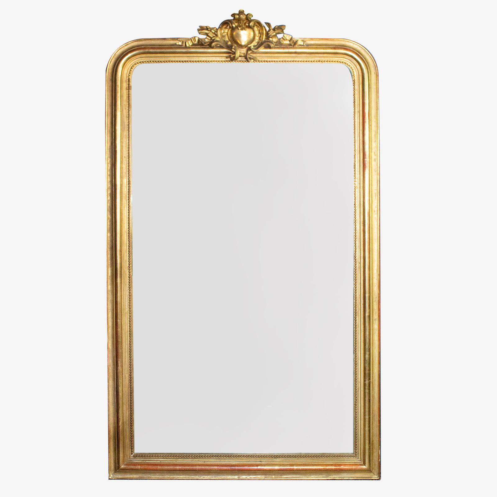 Grote Spiegel Met Kuif.Grote Spiegel Met Hartkuif