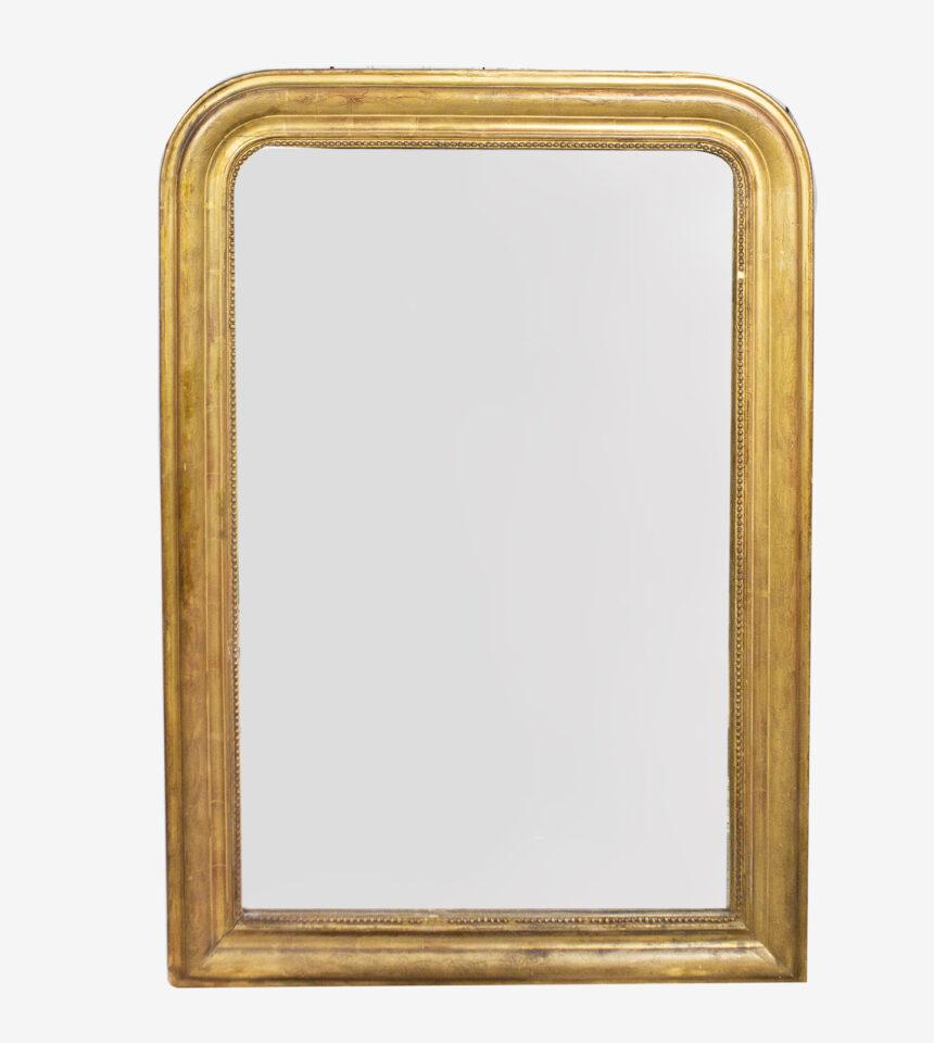 Franse Spiegels gouden Louis Philippe spiegel