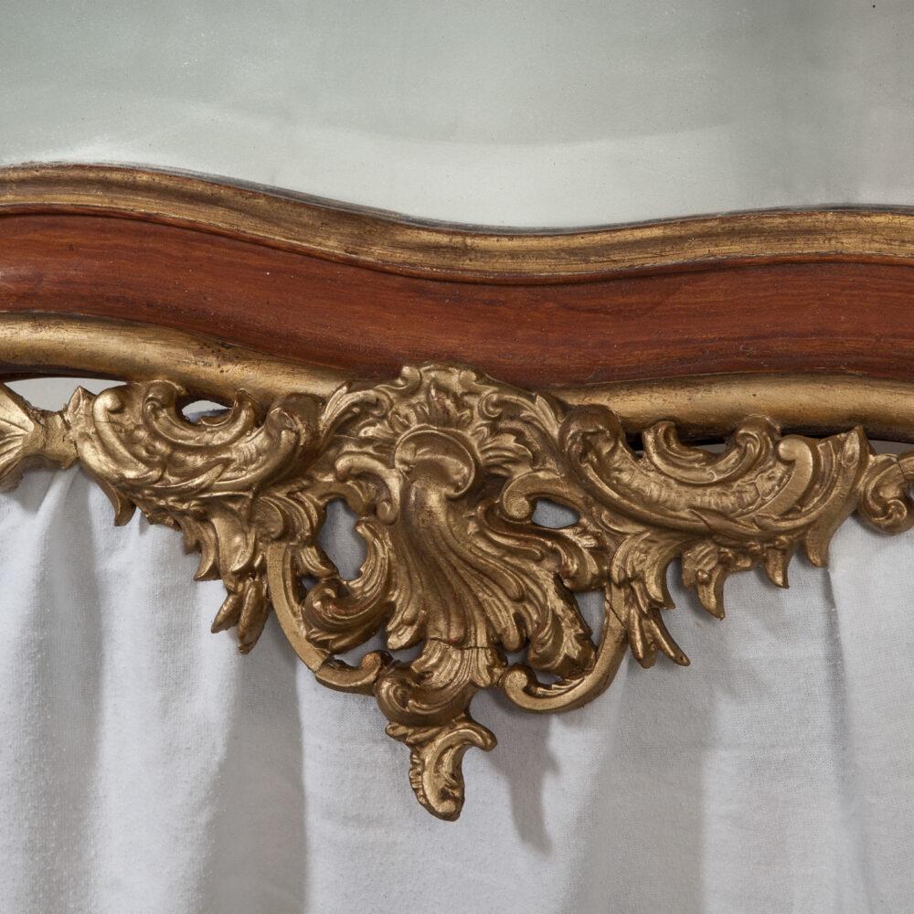 Franse Spiegels Rococo Spiegel Detail 3