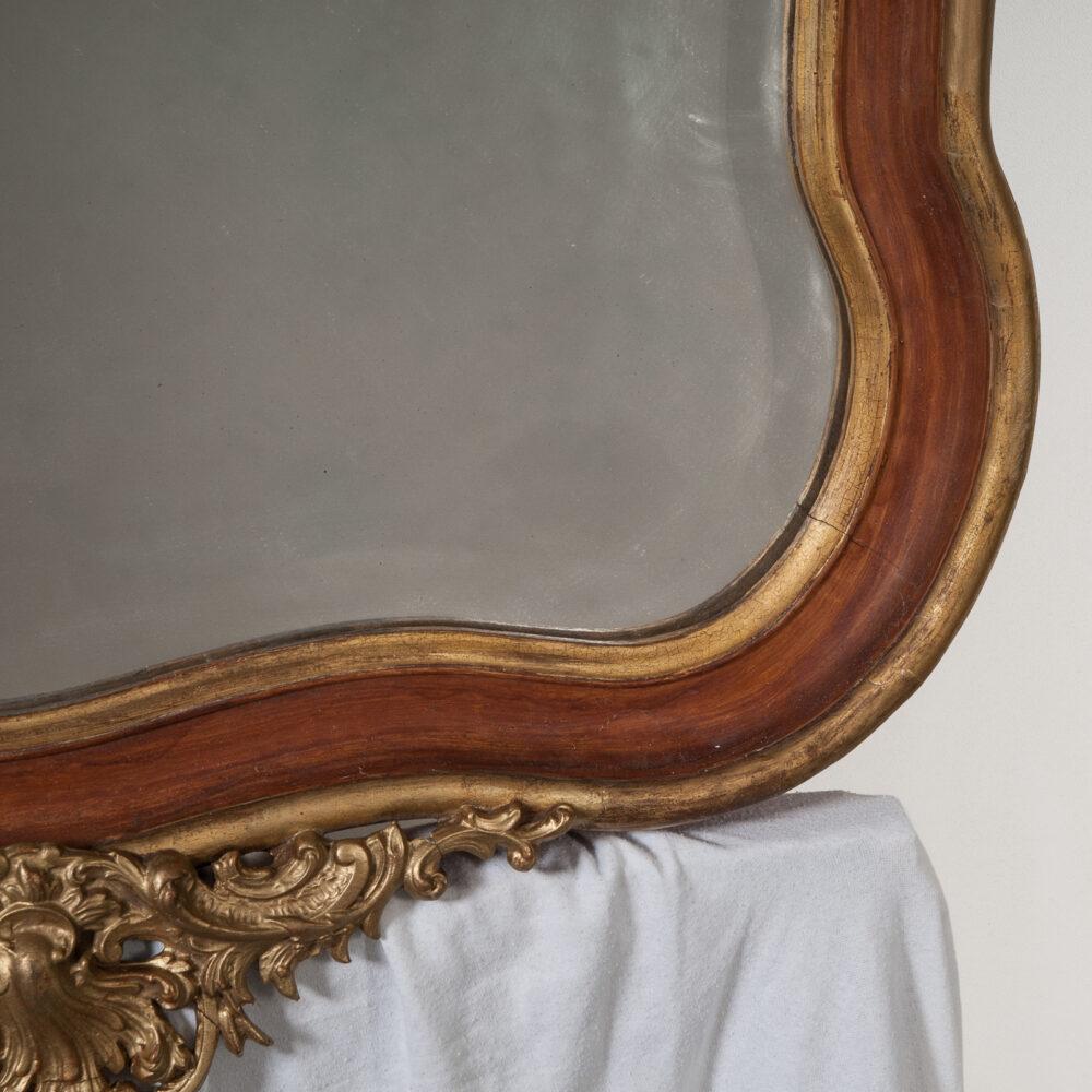 Franse Spiegels Rococo Spiegel Detail 1