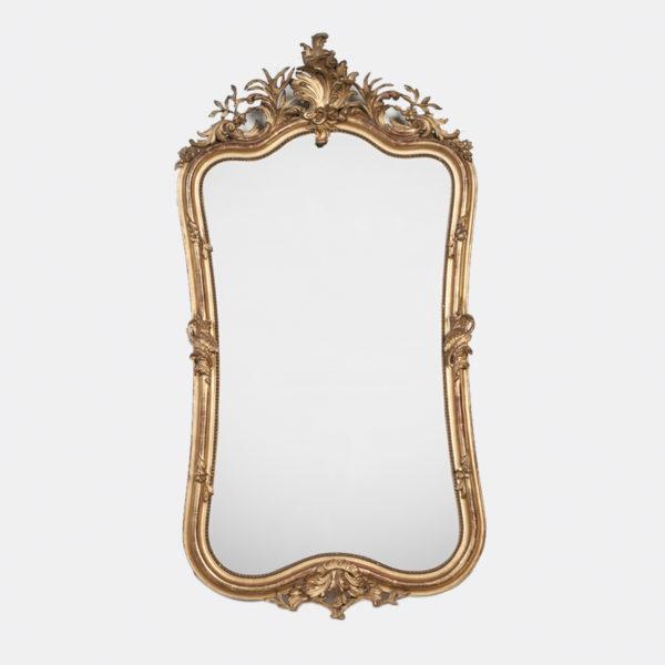 Franse Spiegels Grote Gouden Rococo Spiegel Overzicht